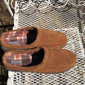 Rockport suede slip on shoes 12.5/13